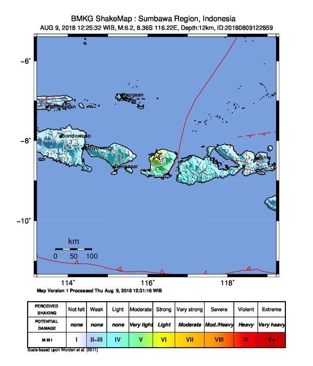 29807 medium gempa kembali mengguncang lombok  kali ini 6 2 skala richter