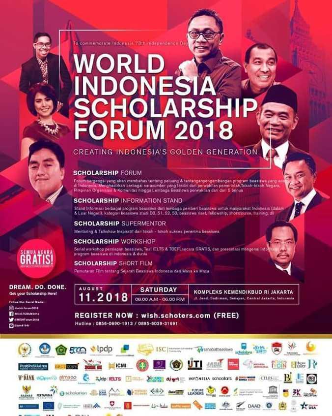 29897 medium atmago hadir di acara world indonesia scholarship forum 2018