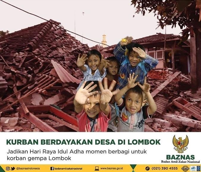 30435 medium kurban berdayakan desa di lombok