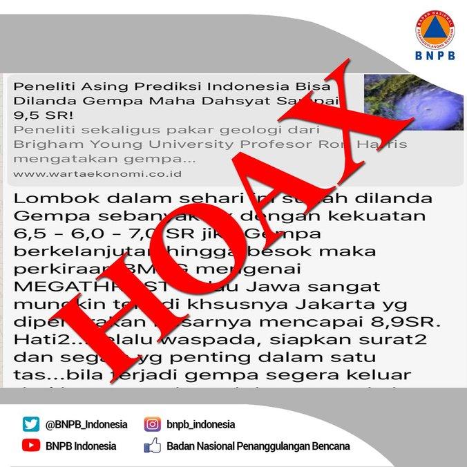 31221 medium waspada hoax terkait bencana gempa lombok