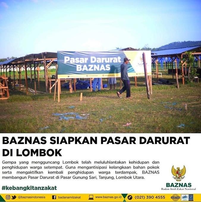 31365 medium pasar darurat baznas lombok utara