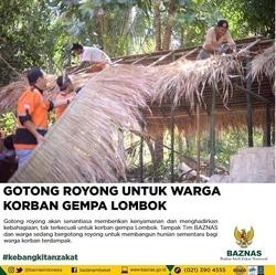 31640 small gotong royong untuk warga korban gempa lombok