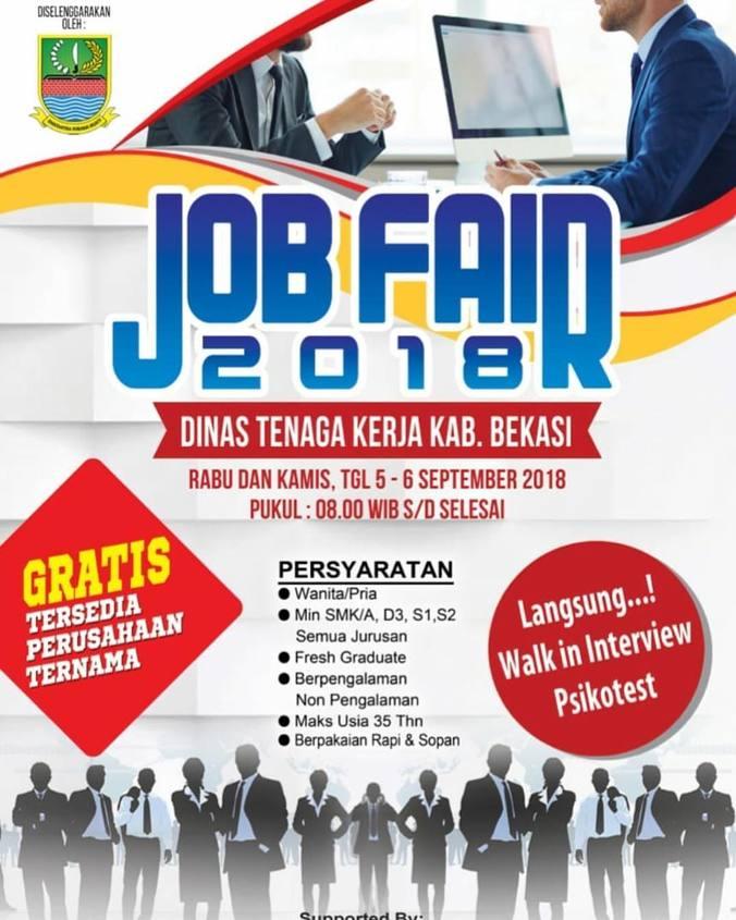 31791 medium job fair disnaker bekasi %e2%80%93 september 2018