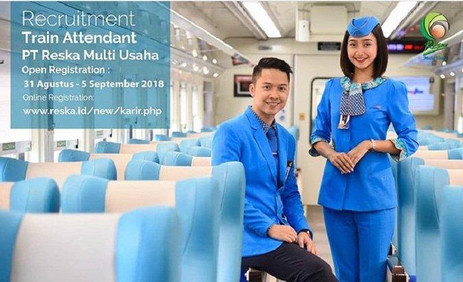 31921 medium lowongan kerja pramugara dan pramugari di kereta api pt reska multi usaha