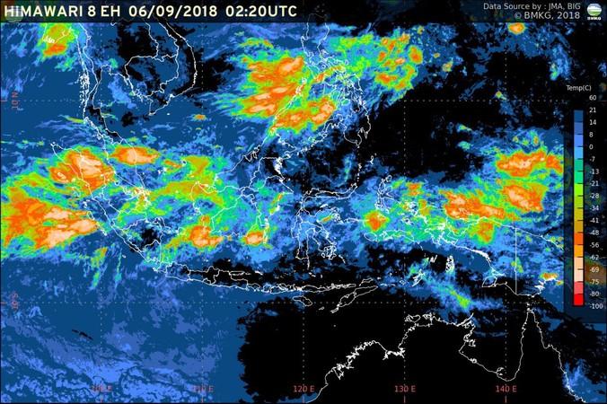 32260 medium bmkg 3 hari ke depan  waspada potensi hujan lebat di sejumlah wilayah indonesia