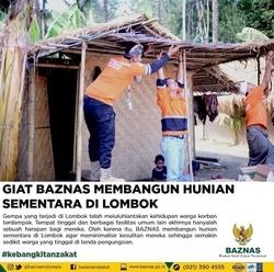 32338 small giat baznas membangun hunian sementara di lombok
