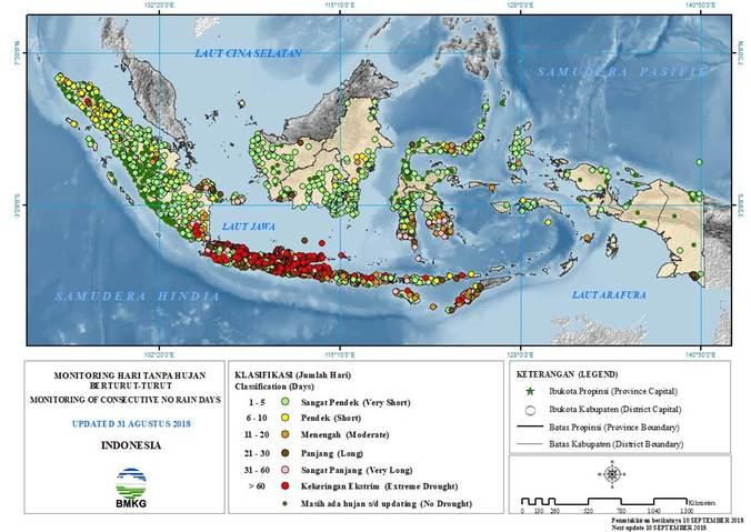32718 medium sebagian besar pulau jawa sudah tidak turun hujan lebih dari 60 hari