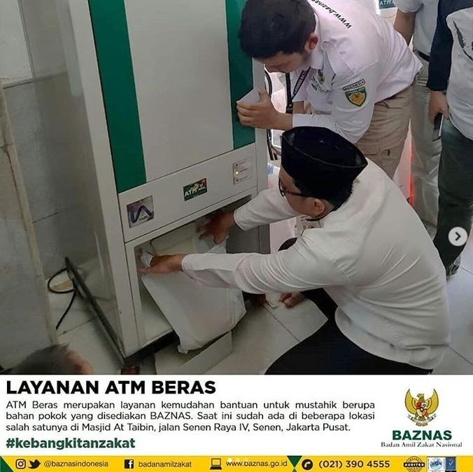 32724 medium layanan atm beras baznas untuk mustahik