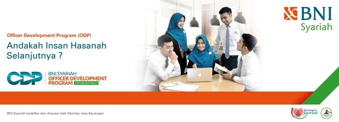 32867 medium lowongan kerja bank bni syariah    officer development program %28odp%29