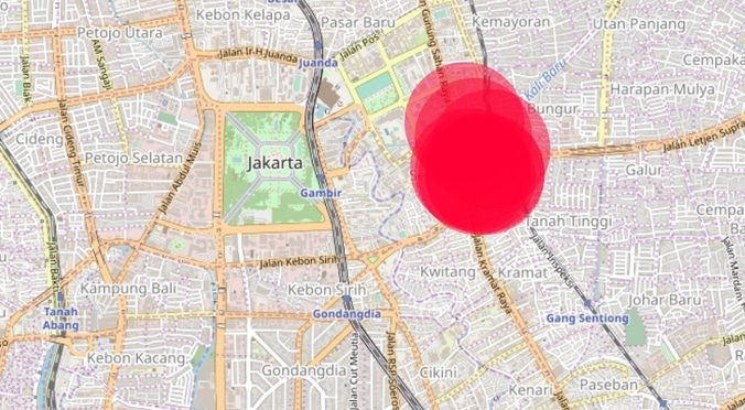 33117 medium info gangguan pln   pasar senen dan sekitarnya  pukul 22.23 wib