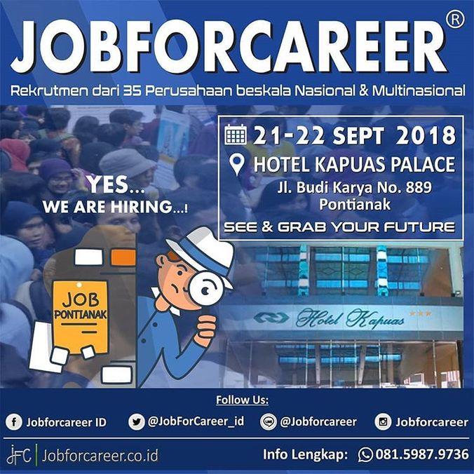 33422 medium job for career pontianak %e2%80%93 september 2018