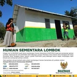 33425 small baznas bangun hunian sementara di lombok
