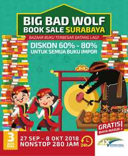 33653 small big bad wolf book sale surabaya 2018