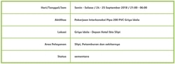 33774 small info gangguan pdam    slipi  petamburan dan sekitarnya %2824 25 september 2018%29