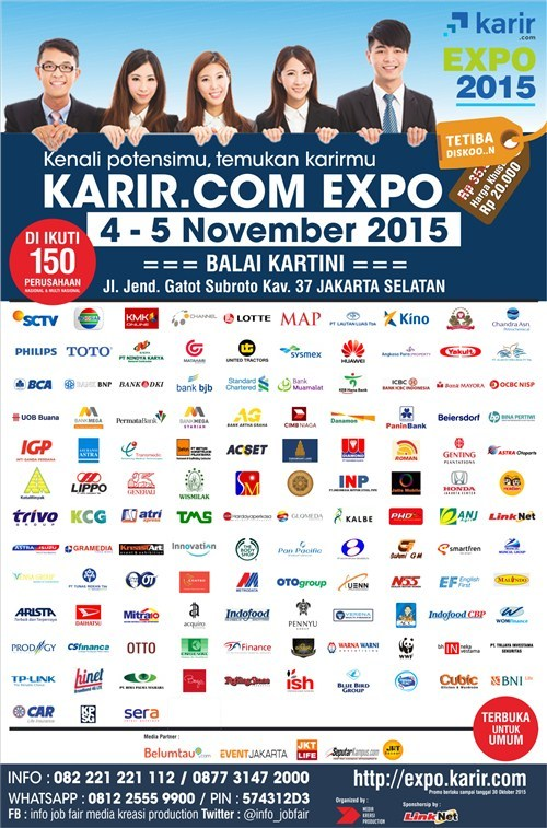 337 medium karir.com expo 2015 karir.com dengan media kreasi production rev 20 10