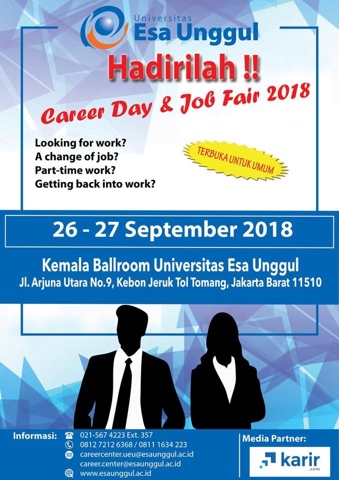 33900 medium job fair universitas esa unggul %e2%80%93 september 2018