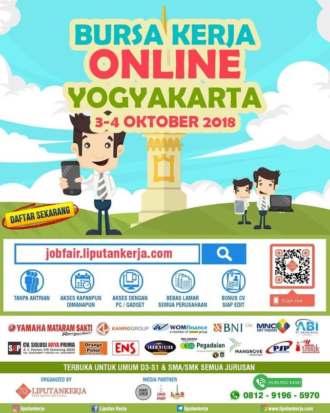 34306 medium bursa kerja online yogyakarta %e2%80%93 oktober 2018