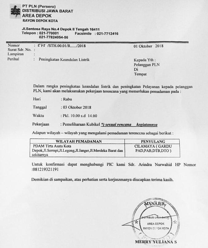 34389 medium info gangguan pdam   kota depok dan sekitarnya %283 oktober 2018%29
