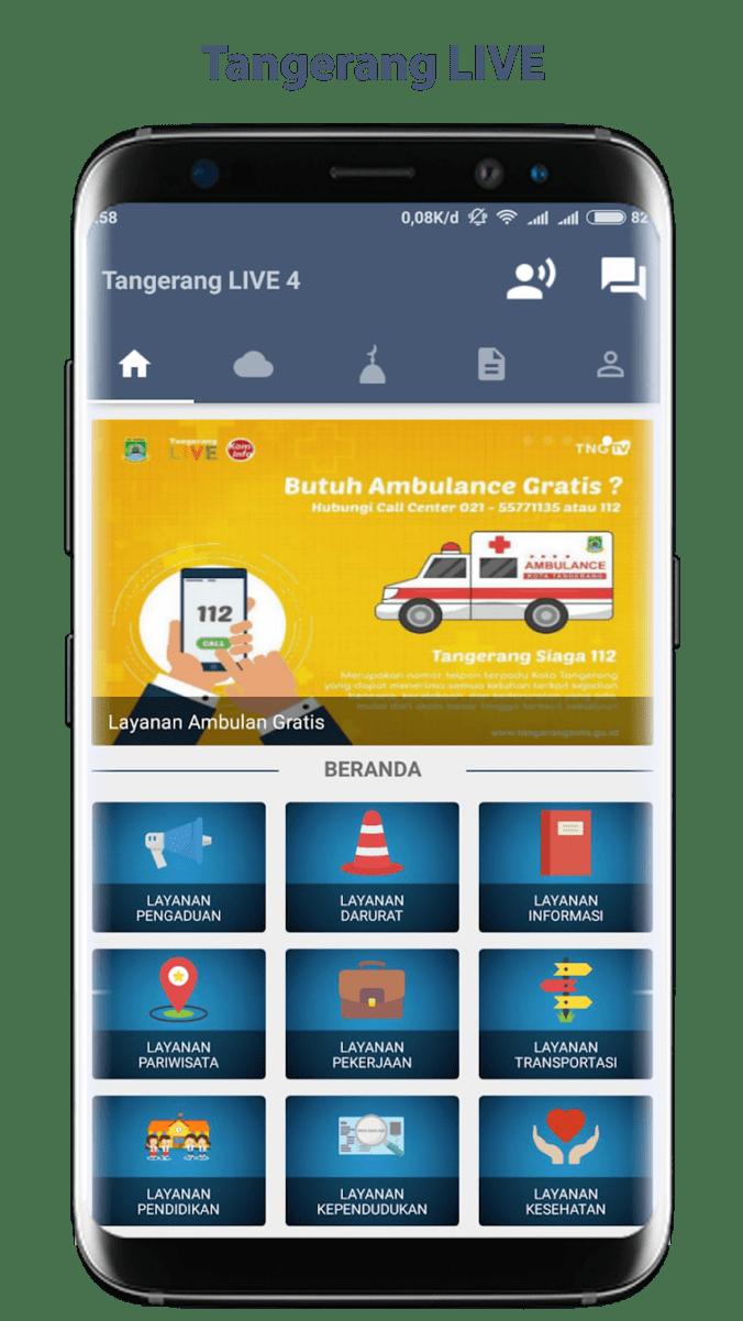 34497 medium pemkot tangerang luncurkan fitur lowongan kerja pada aplikasi tangerang live