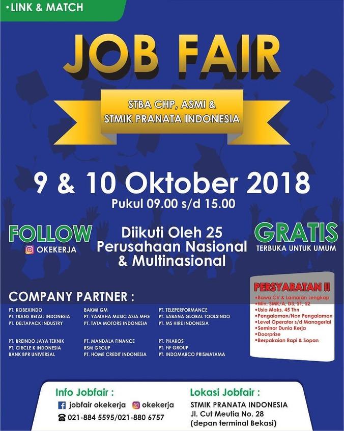 34629 medium job fair stmik pranata indonesia %e2%80%93 oktober 2018