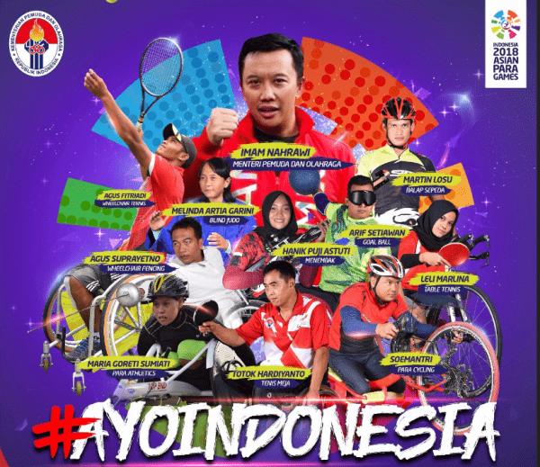 34753 medium berlangsung 6 13 oktober  ayo dukung tim indonesia berlaga di asian para games 2018