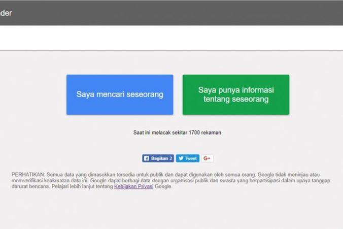 34877 medium lapor dan cari korban gempa dan tsunami palu dengan google person finder