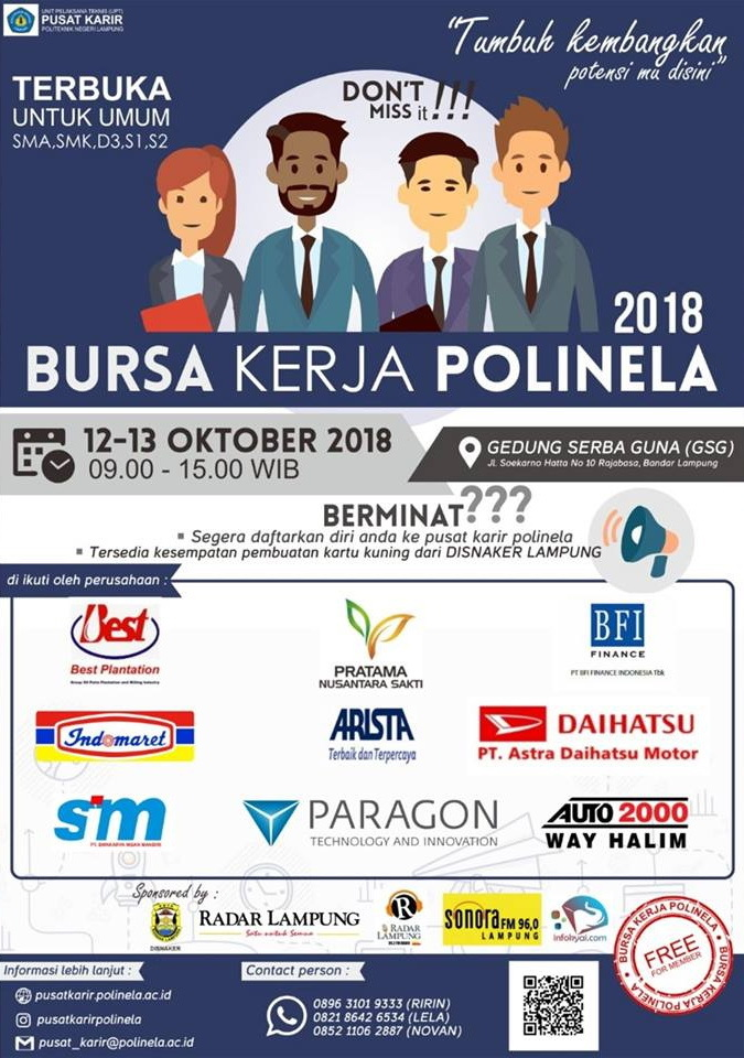 35182 medium bursa kerja polinela %e2%80%93 oktober 2018