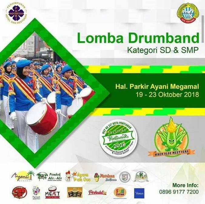 36033 medium hut pontianak  pemkot gelar lomba drumband kategori sd dan smp %2819 23 oktober 2018%29