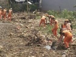 3626 small pengangkutan sampah di jati padang terkendala akses