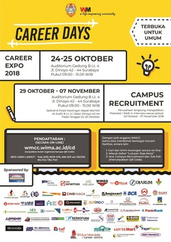 36741 small career days ii unika widya mandala surabaya 2018
