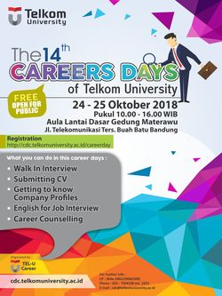 36742 small the 14th career days of telkom university %e2%80%93 oktober 2018
