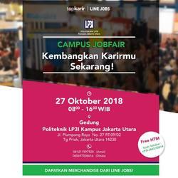 36879 small campus job fair lp3i jakarta utara %e2%80%93 oktober 2018
