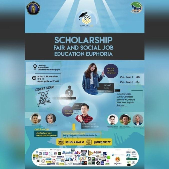 37971 medium expo beasiswa dan job fair se malang raya   scholaria 2.0 november 2018