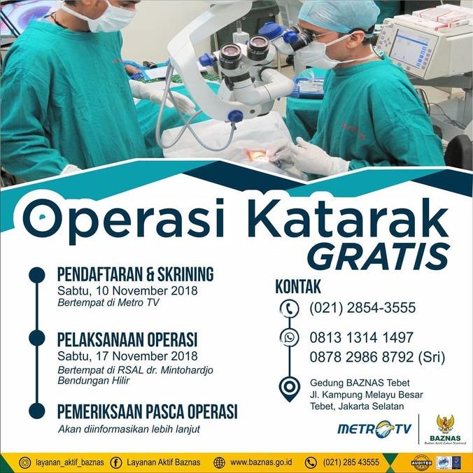 37973 medium metro tv dan baznas gelar operasi katarak gratis