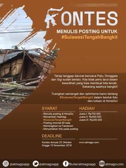 38395 small lomba menulis posting atmago  sulawesitengahbangkit