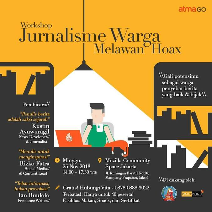 38639 medium atmagoers jakarta  yuk ikuti workshop jurnalisme warga melawan hoax!