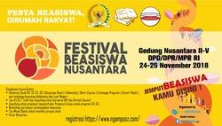 38732 small festival beasiswa nusantara 2018