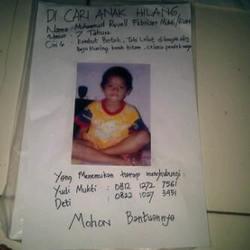 388 small anak hilang