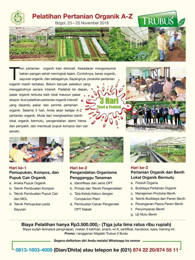 39270 medium pelatihan pertanian organik
