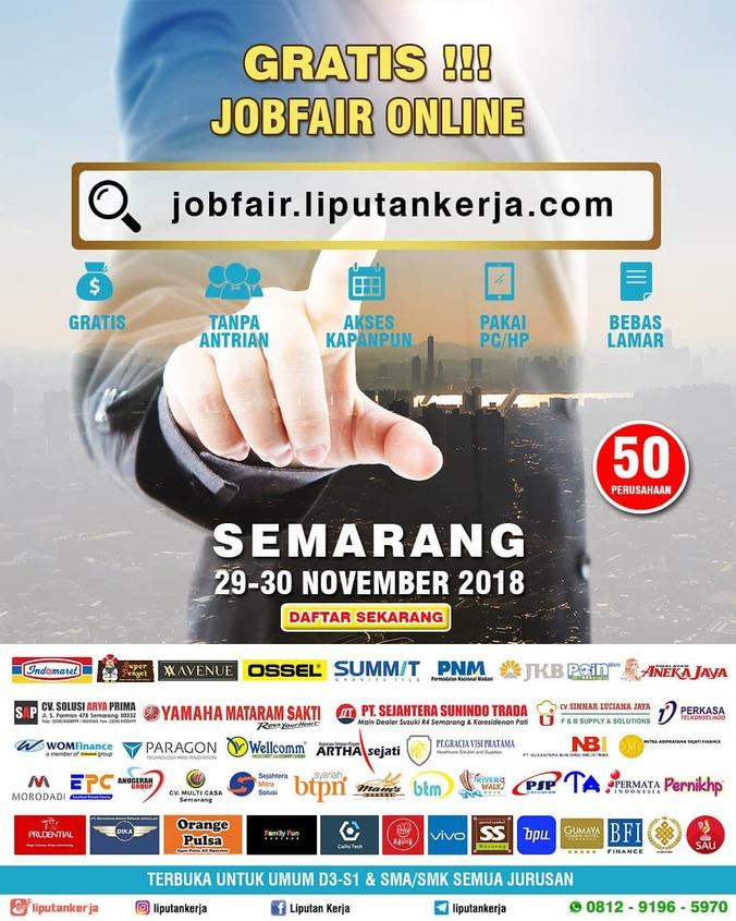 41097 medium job fair online semarang %e2%80%93 november 2018