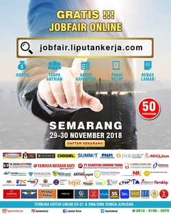 41097 small job fair online semarang %e2%80%93 november 2018