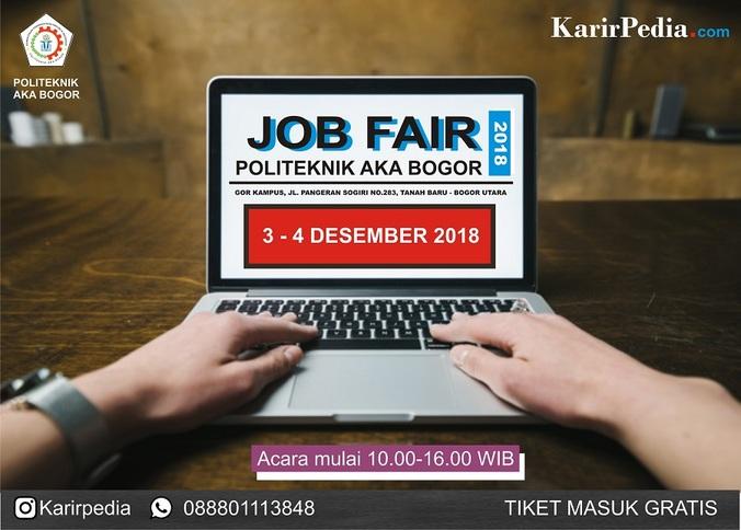 41428 medium job fair politeknik aka bogor %e2%80%93 desember 2018