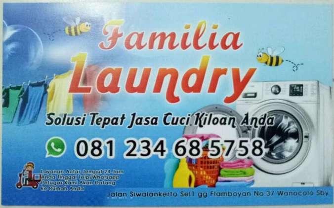 41718 medium dicari karyawati bagian setrika familia laundry
