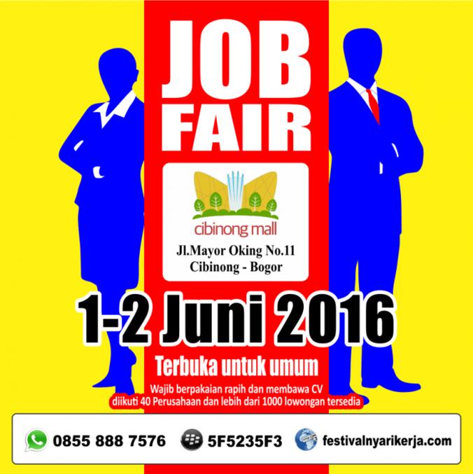 4346 medium job fair cibinong mall bogor %e2%80%93 juni 2016