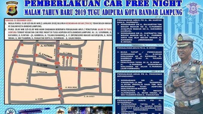 44466 medium rute pengalihan jalan tahun baru 2019 bandar lampung