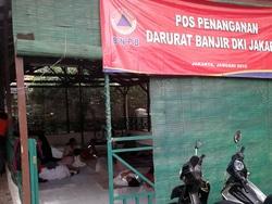 444 small 1200 relawan banjir jaksel