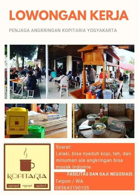 44927 medium lowongan kerja di kopitaria yogyakarta