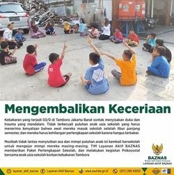 45615 small tim layanan aktif baznas kembalikan keceriaan anaka anak korban kebakaran di kec. tambora