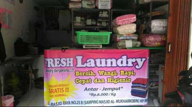 45880 medium lowongan kerja freelance antar jemput di fresh laundry