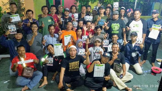 46824 medium m nurfahroji hadiri rapat kordinasi tim pemenangan